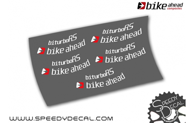 Bike Ahead  Biturbo RS 2019 - adesivi per ruote