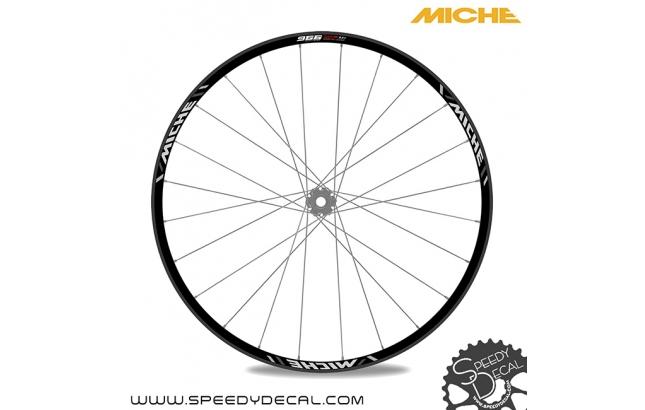 Miche 966 WP AX Boost - adesivi per ruote