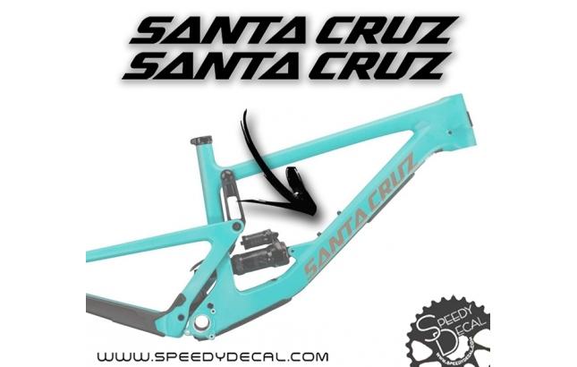 Santa Cruz - kit adesivi telaio