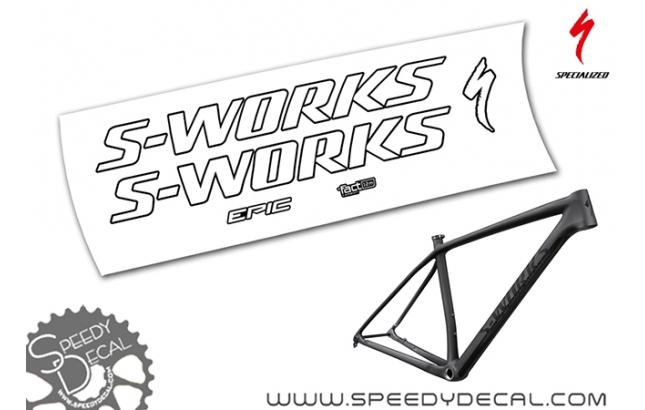 S-works Epic Ht 2020 - kit adesivi telaio