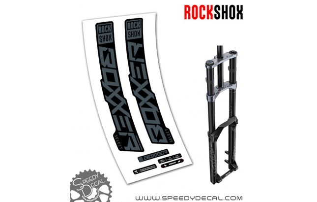 Rock Shox Boxxer Select 2020 - adesivi per forcella