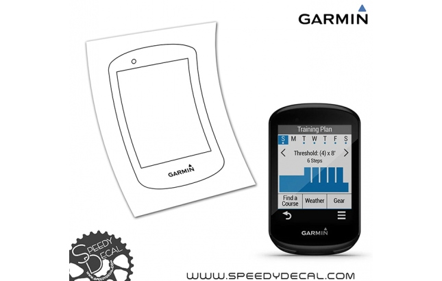 Garmin 830 - cover adesiva