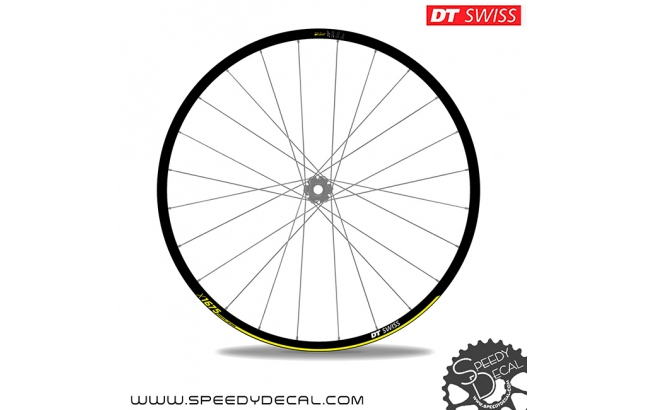 DT Swiss X1675 - adesivi per ruote