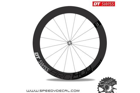 DT Swiss ARC1400 dicut disc - adesivi per ruote