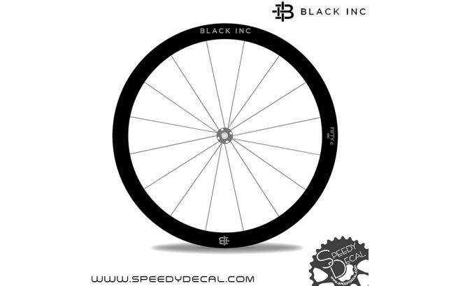BACK IINC FIFTY C DISC - adesivi per ruote