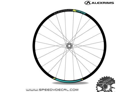 Alexrims DP25 - adesivi per ruote