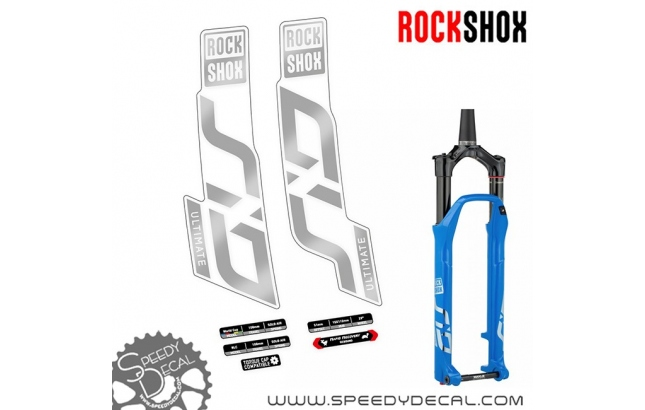 Rock shox Sid Ultimate 2020 - adesivi per forcella