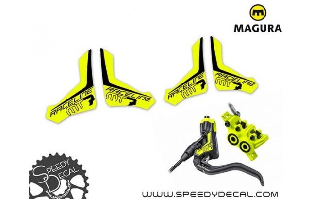 Magura Brake MT7 Raceline - adesivi per freni