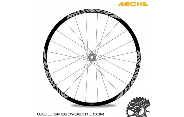 Miche K1 2020 - adesivi per ruote