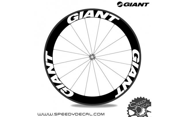 Giant - adesivi per ruote