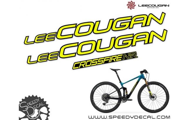Lee Cougan Crossfire Air 2020 - kit adesivi telaio