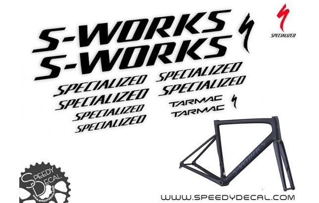 Specialized S-Works Tarmac SL6 Disc - kit adesivi telaio