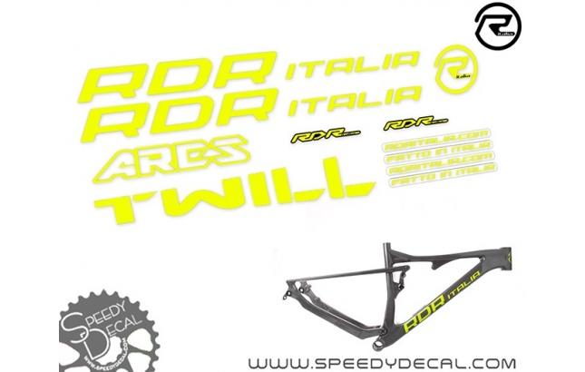 RDR Italia Ares - kit adesivi telaio