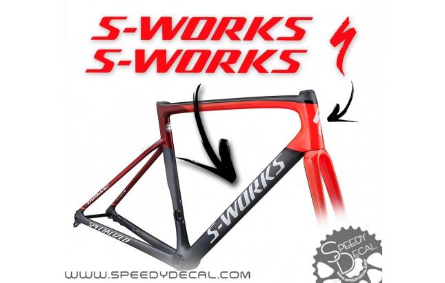 S-Works - kit adesivi telaio