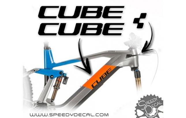 Cube - kit adesivi telaio
