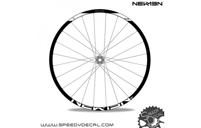 NEWMEN Evolution SL X.A.25 - adesivi per ruote