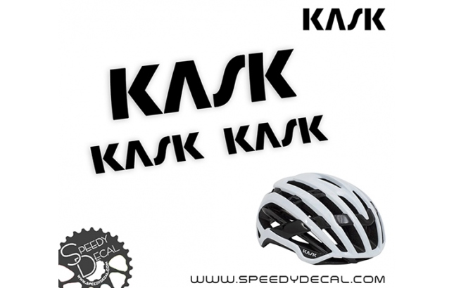 Kask Valegro - kit completo di adesivi per casco