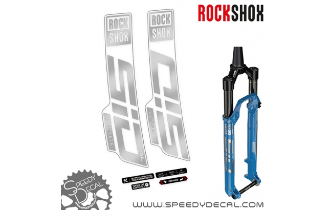 Rock shox Sid Ultimate / select 2021 - adesivi per forcella