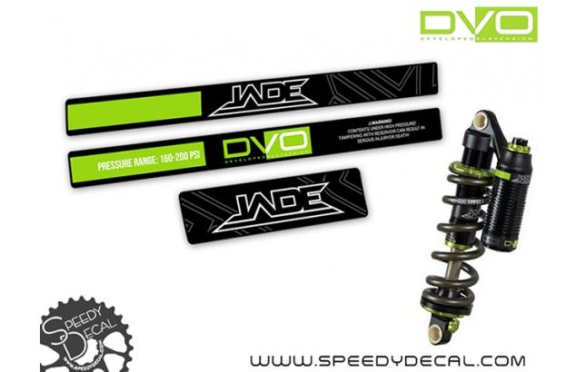 DVO Jade Coil - adesivi per ammortizzatore posteriore