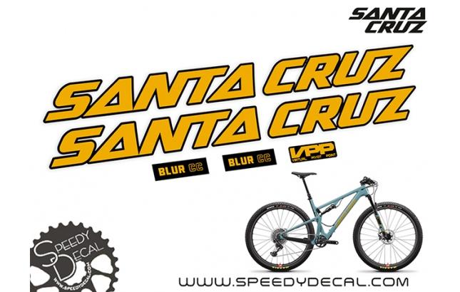 Santa Cruz Blur CC - kit adesivi telaio