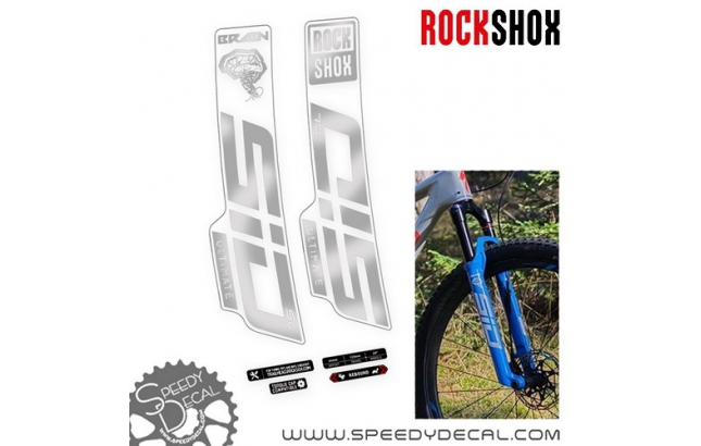 Rock shox Sid Brain SL Ultimate 2021 - adesivi per forcella