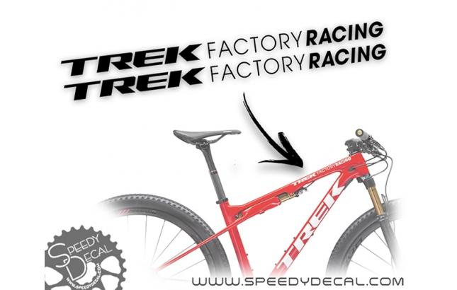 Trek Factory Racing - kit adesivi telaio
