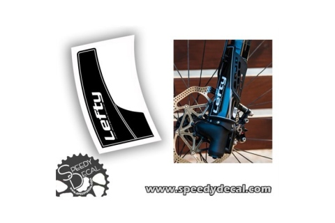 Adesivo paracolpi per Cannondale Lefty 2.0 anno 2015