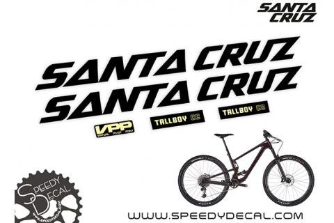 Santa Cruz Tallboy CC 2020 - kit adesivi telaio