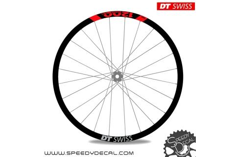 DT Swiss EXC 1200 35mm 2020 - adesivi per ruote