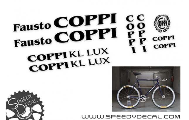 Fausto Coppi Kl Lux - kit adesivi telaio
