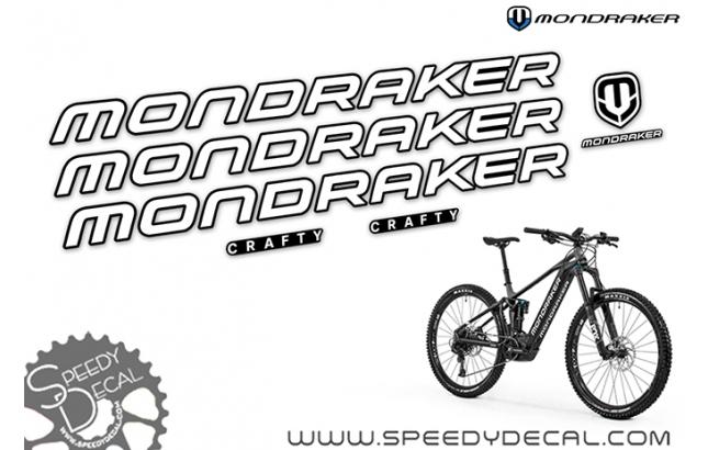 Mondraker Crafty R 2020 - kit adesivi telaio