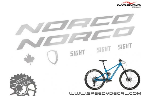 Norco Sight 2020 - kit adesivi telaio