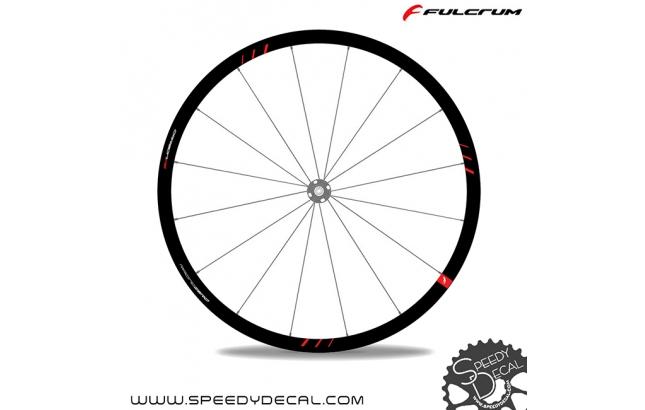 Fulcrum Zero Carbon Disc - adesivi per ruote
