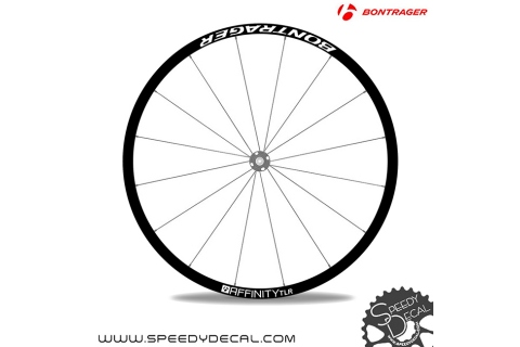 Bontrager Affinity Disc Tlr - adesivi per ruote