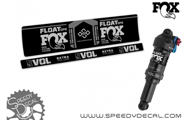 Fox Float Dps Performance Elite 2021 - adesivi per ammortizzatore posteriore
