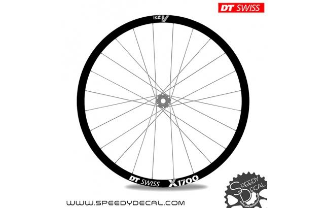 DT Swiss X1700 25mm - adesivi per ruote