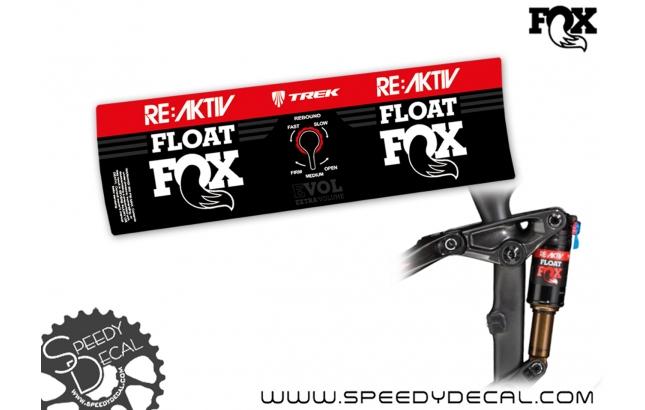 Fox Float Trek RE:aktiv Evol 2020  - adesivi per ammortizzatore posteriore