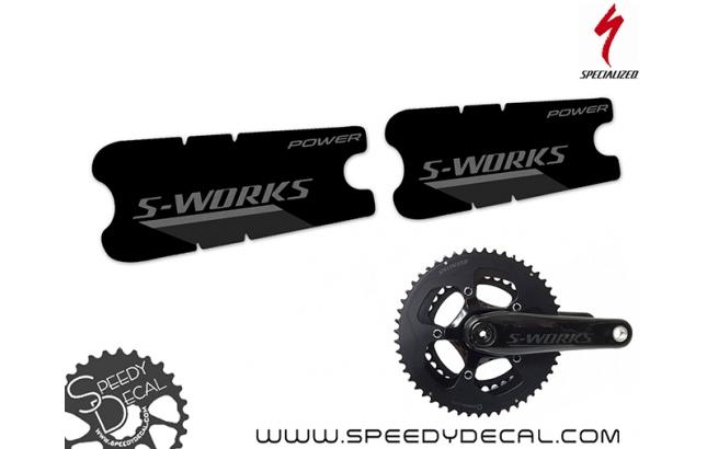 S-works Dual Power - adesivi per pedivelle