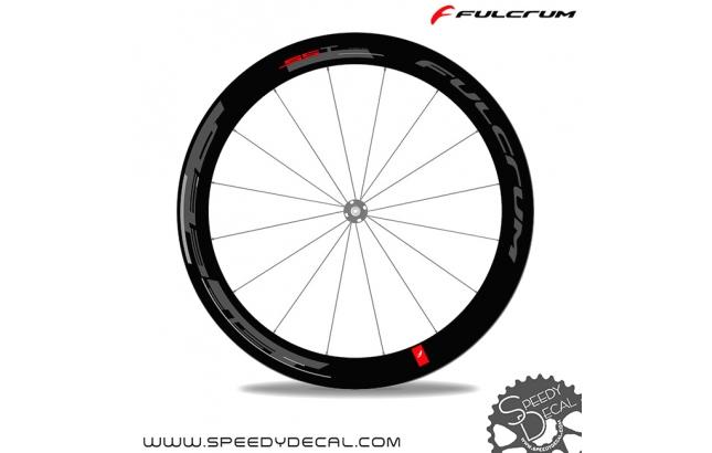 Fulcrum Speed 55T - adesivi per ruote