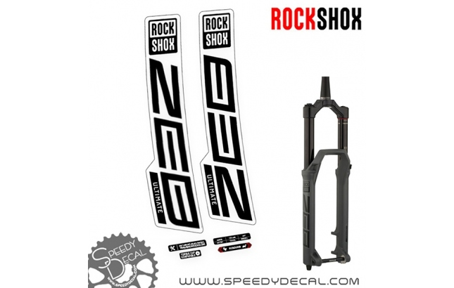 Rock Shox Zeb Ultimate 2020 - adesivi per forcella