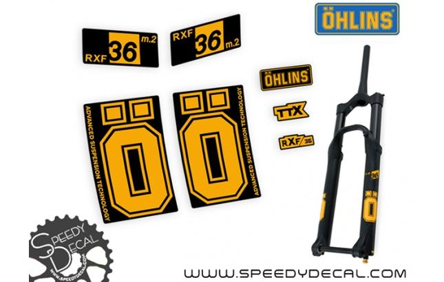 Ohlins Rxf 36 m.2 2021 - adesivi per forcella