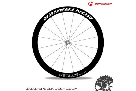 Bontrager Aeolus Elite 50 Disc - adesivi per ruote