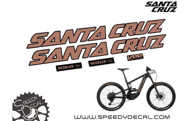 Santa Cruz Heckler CC 2020  - kit adesivi telaio