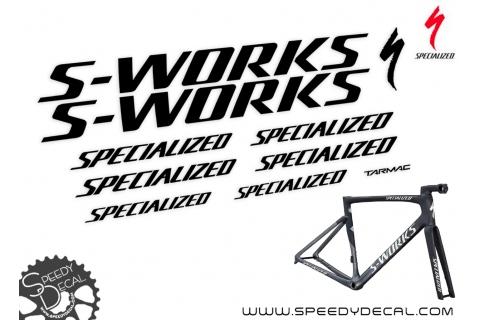 Specialized S-Works Tarmac SL6 Disc 2019 - kit adesivi telaio