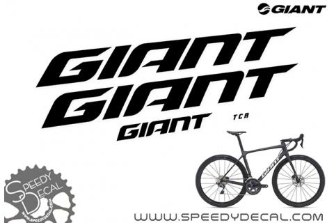 Giant TCR Disc 2021 - kit adesivi telaio