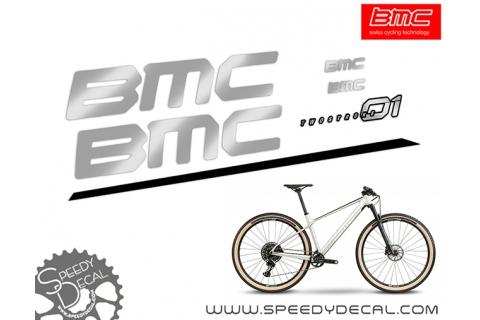 Bmc Twostroke 01 2021 - kit adesivi telaio