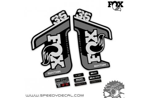 Fox 36 rhythm 2021 - adesivi per forcella