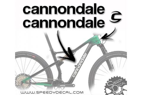 Cannondale - kit adesivi telaio