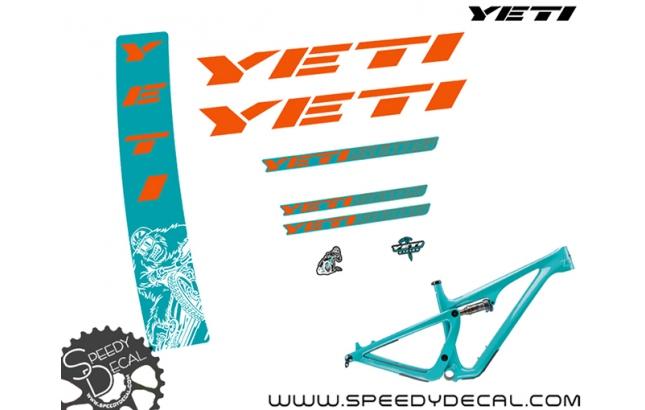 """Yeti SB115 29"""" - kit adesivi telaio"""