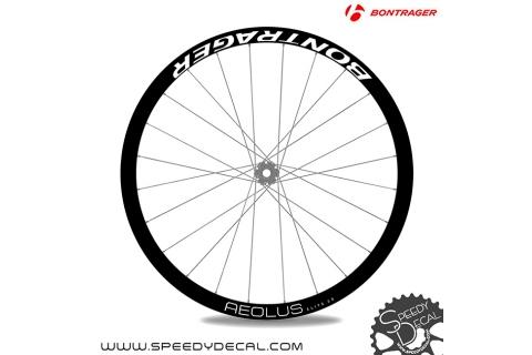 Bontrager Aeolus Elite 35 - adesivi per ruote